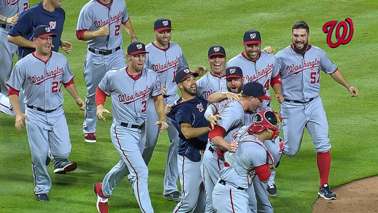 Finishing atop NL means Nats would draw Wild Card
