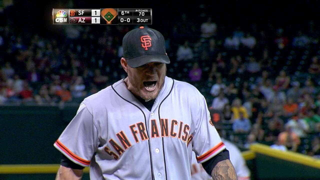 Peavy everything Bochy expected him to be