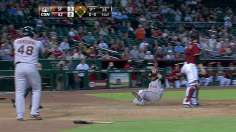 Duffy's ninth-inning knock cuts into NL West deficit