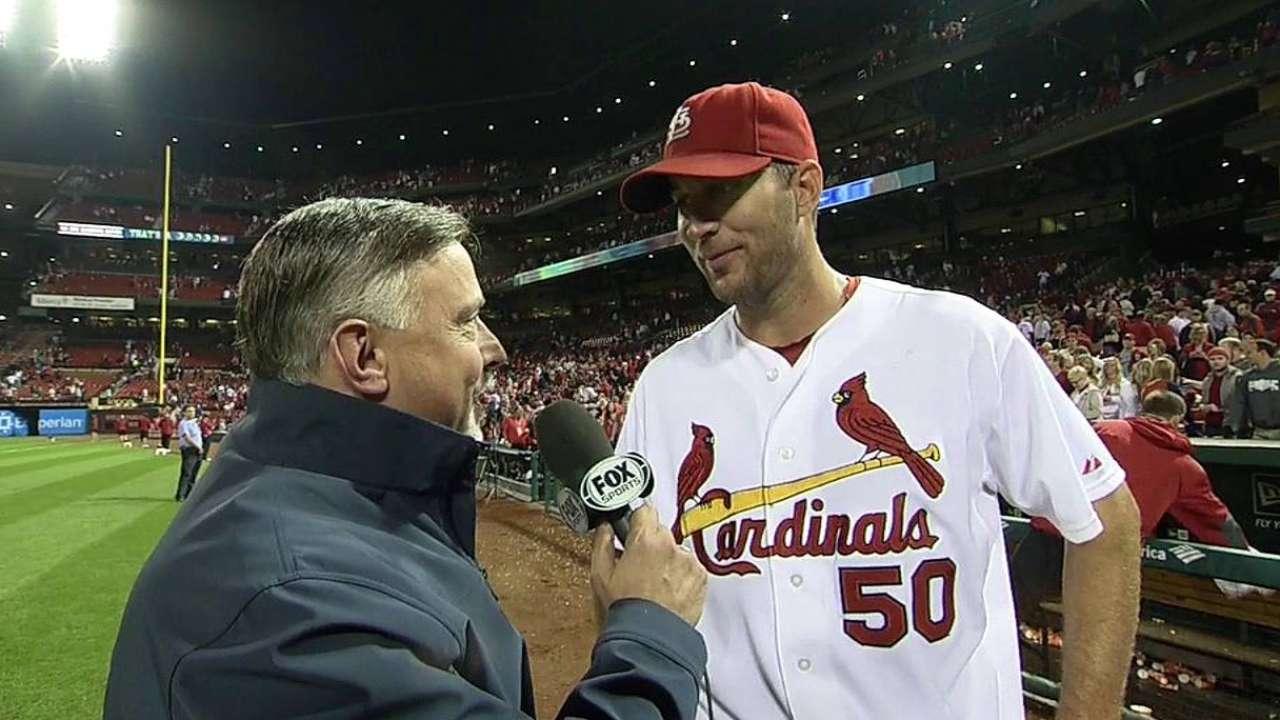 Cardinals' 21 shutouts most since 1968 club