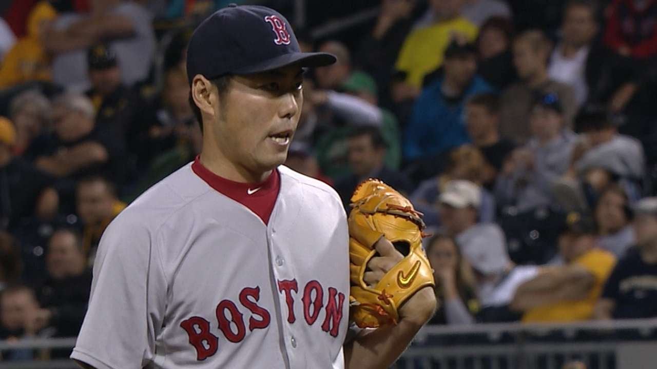 Red Sox pleased with Uehara's recent improvement