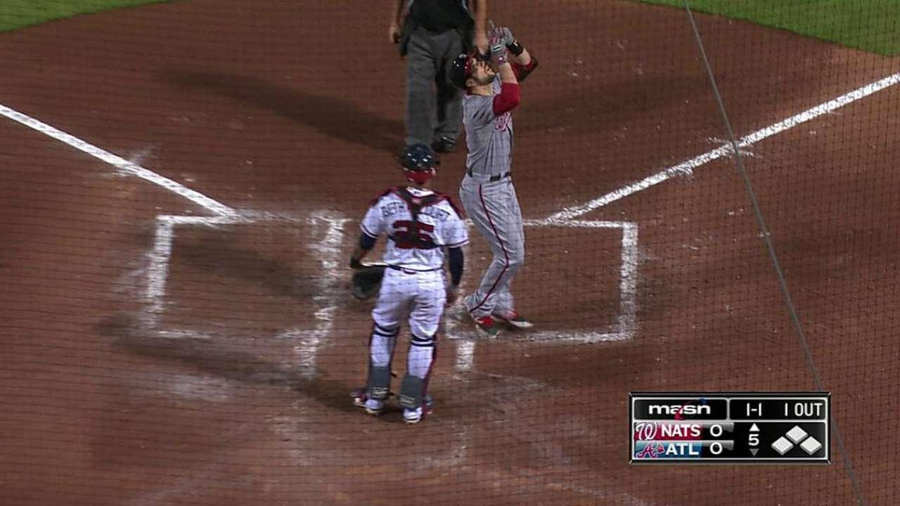 Souza's first homer not enough as Nats fall in Atlanta