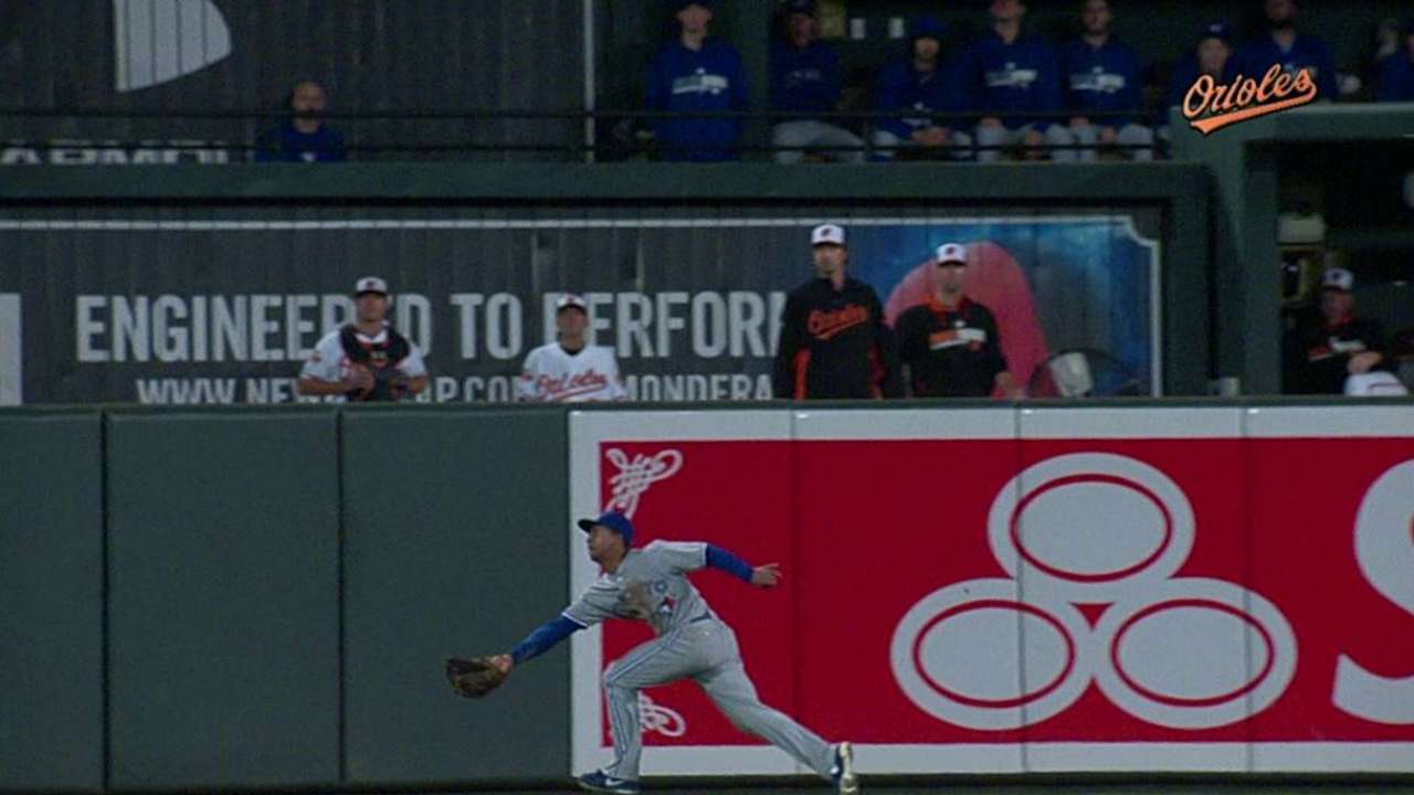 Blue Jays come up empty in Baltimore