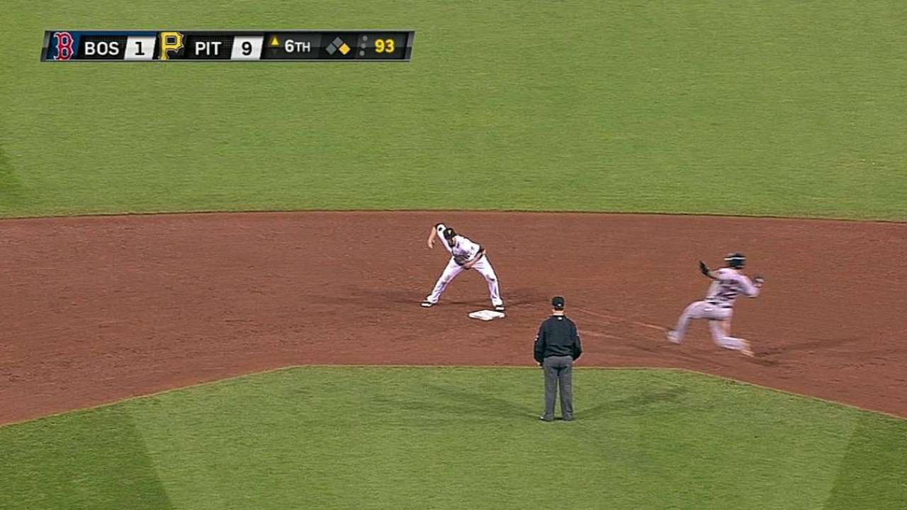 Barmes' quick double play