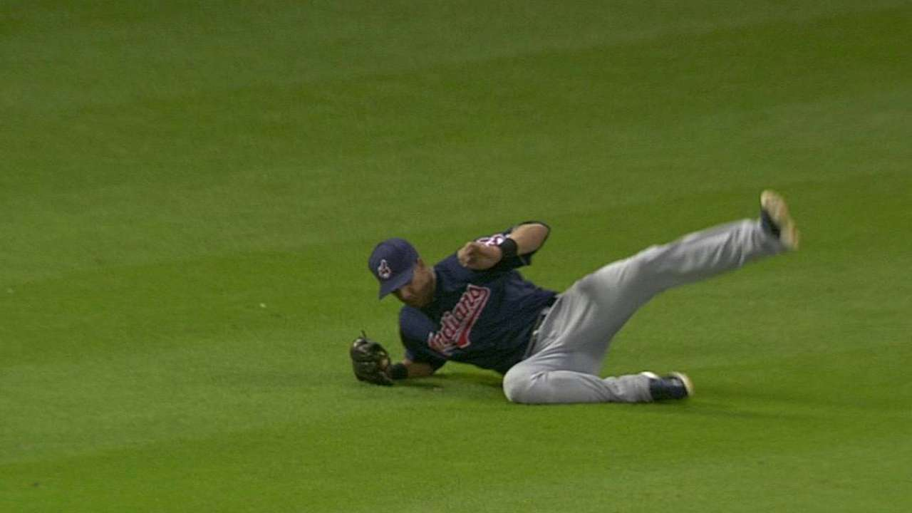Brantley, Gomes named AL Gold Glove finalists