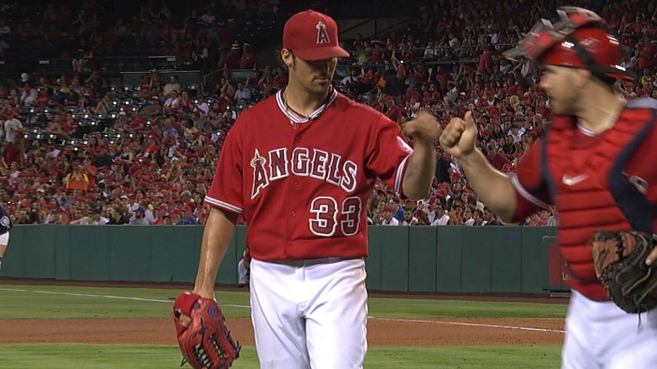 Angels move Wilson's start up to Saturday