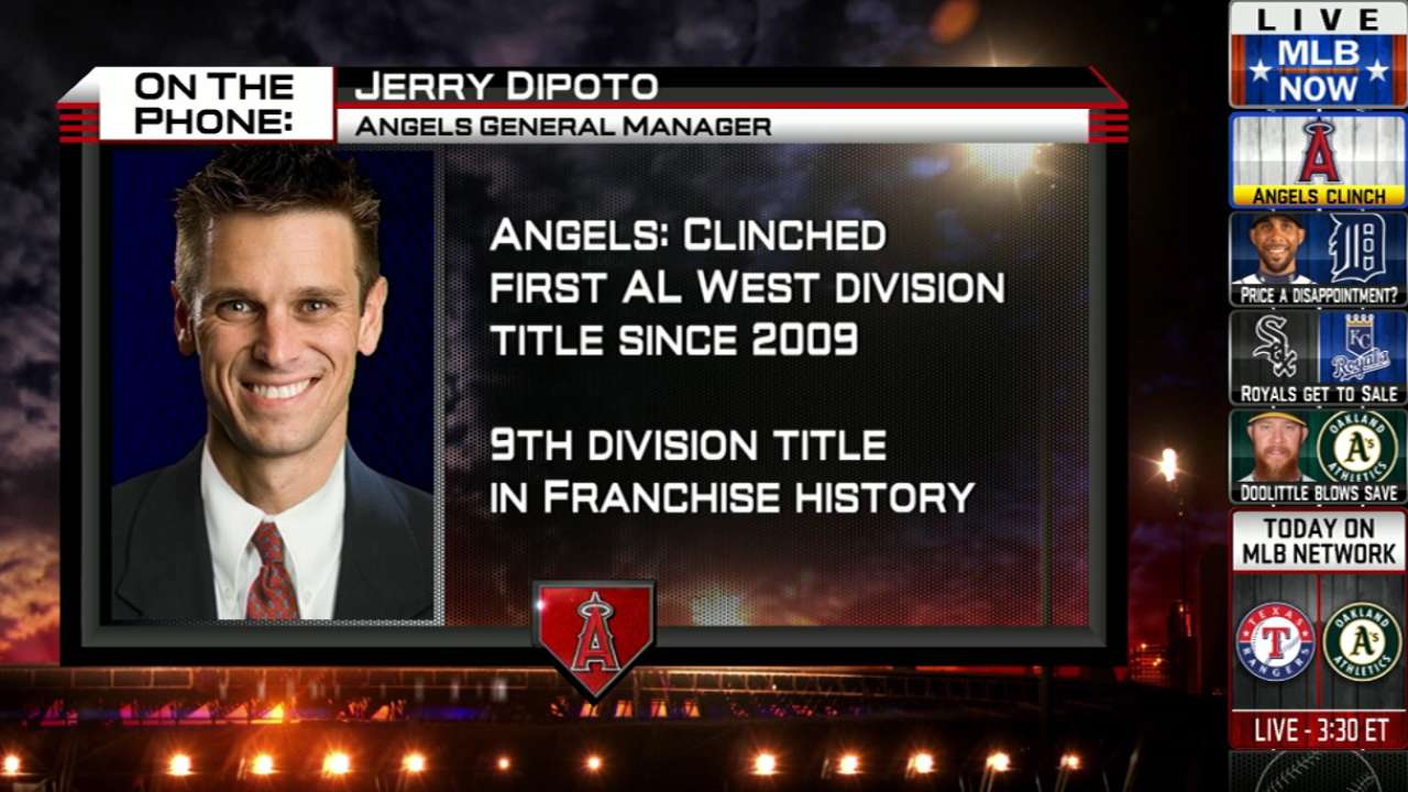 What a difference a year makes for Angels' Dipoto