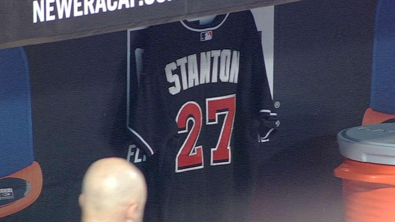 Stanton upbeat, thankful hit to face wasn't worse