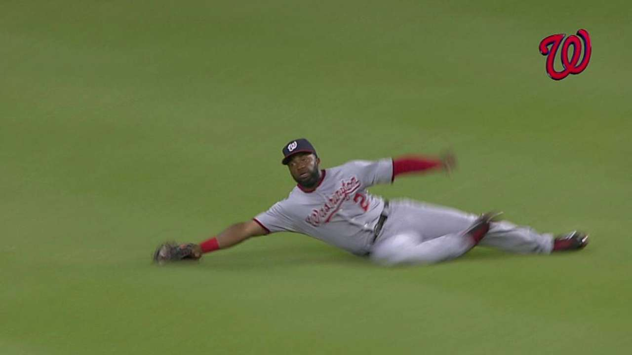 Span and LaRoche in hunt for NL Gold Gloves