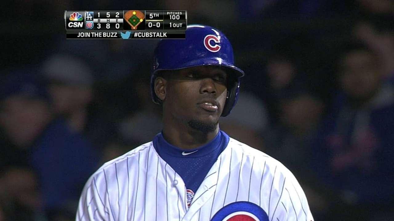 Cubs dejaron escapar ventaja en derrota vs. Dodgers