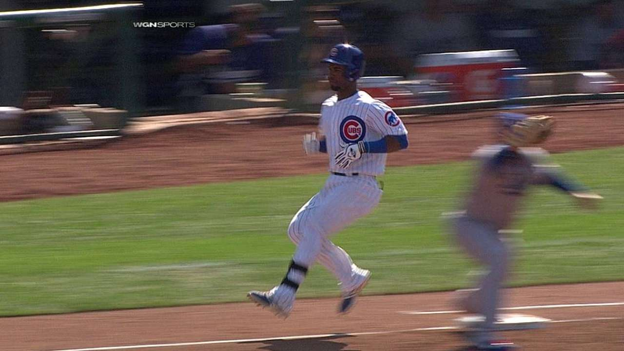 Renteria wins challenge on disputed double play