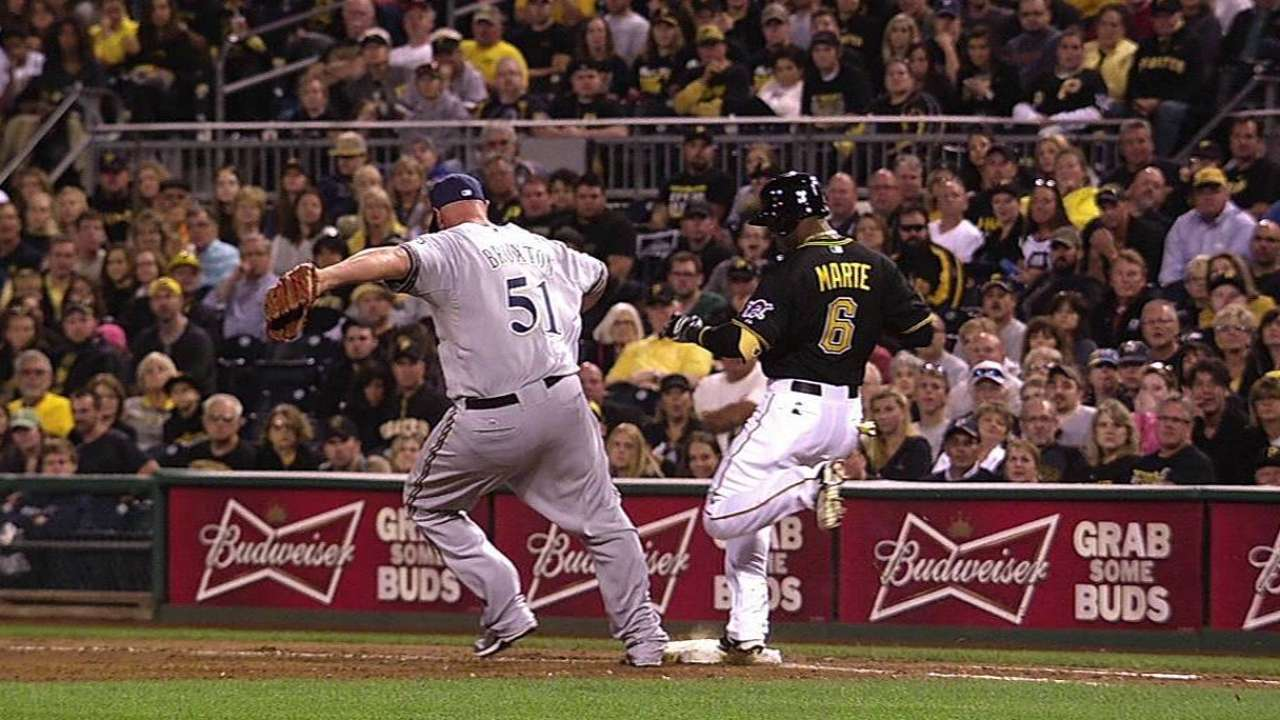 Broxton, Crew again on wrong end of replay
