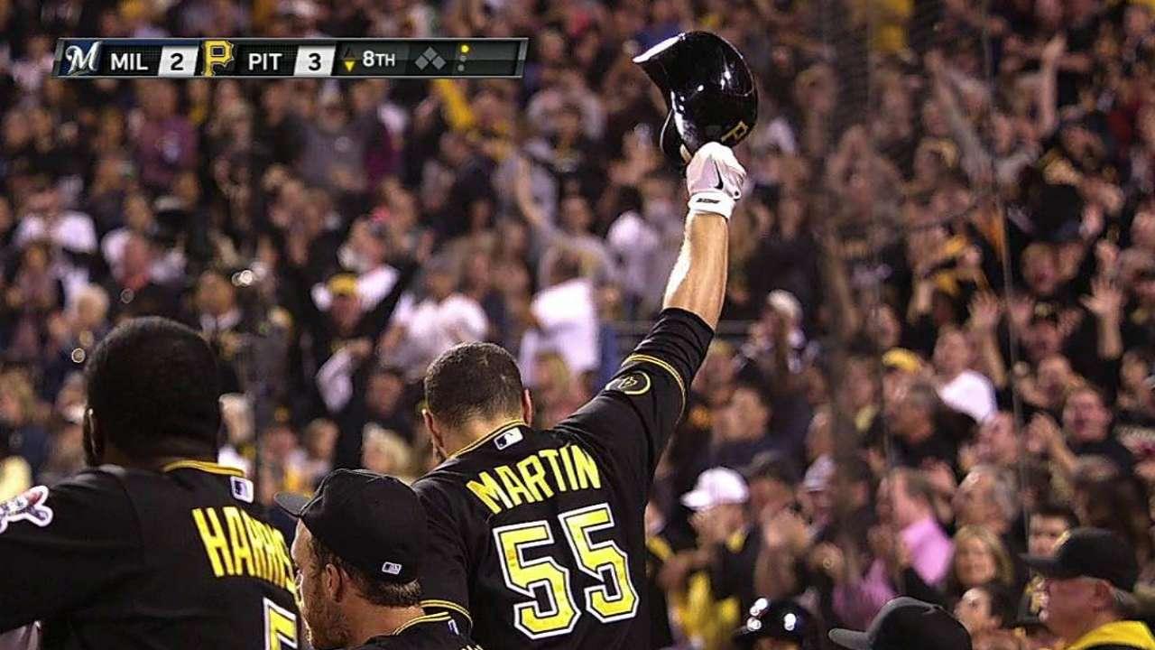 Martin pega el HR decisivo en victoria de Piratas