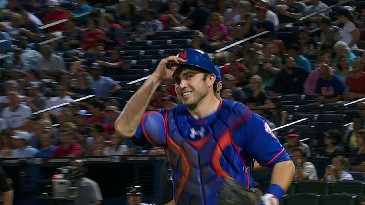 Mets banking on d'Arnaud to keep making strides