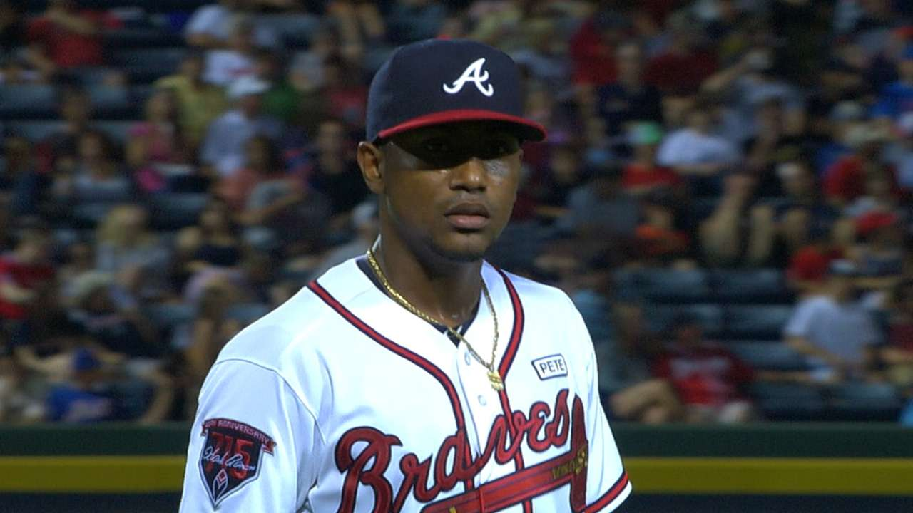 Teheran deals, but Braves blanked in costly loss