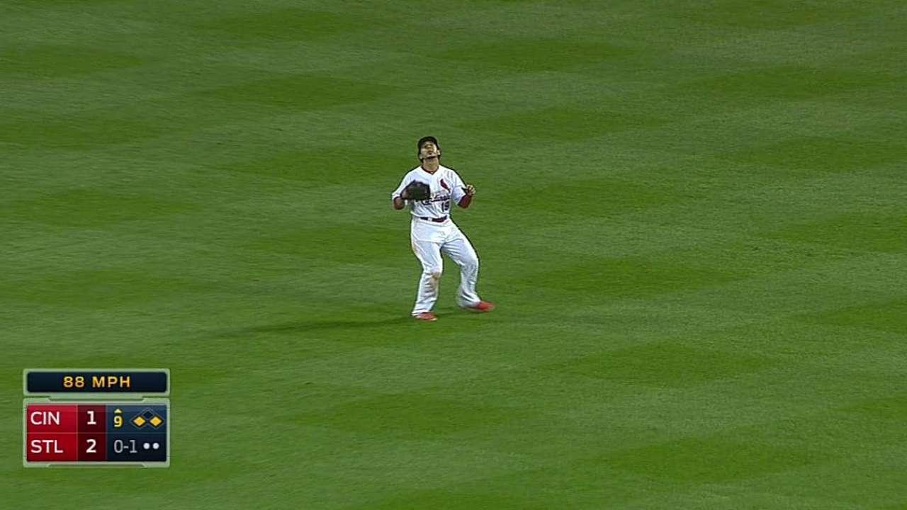 Matheny aggressive deploying 'pen in ninth inning