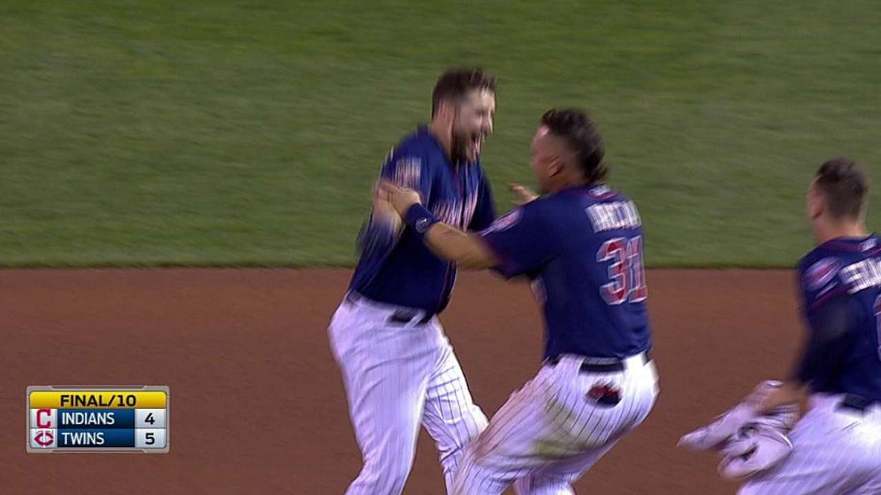 Plouffe deals Indians crushing loss in walk-off win