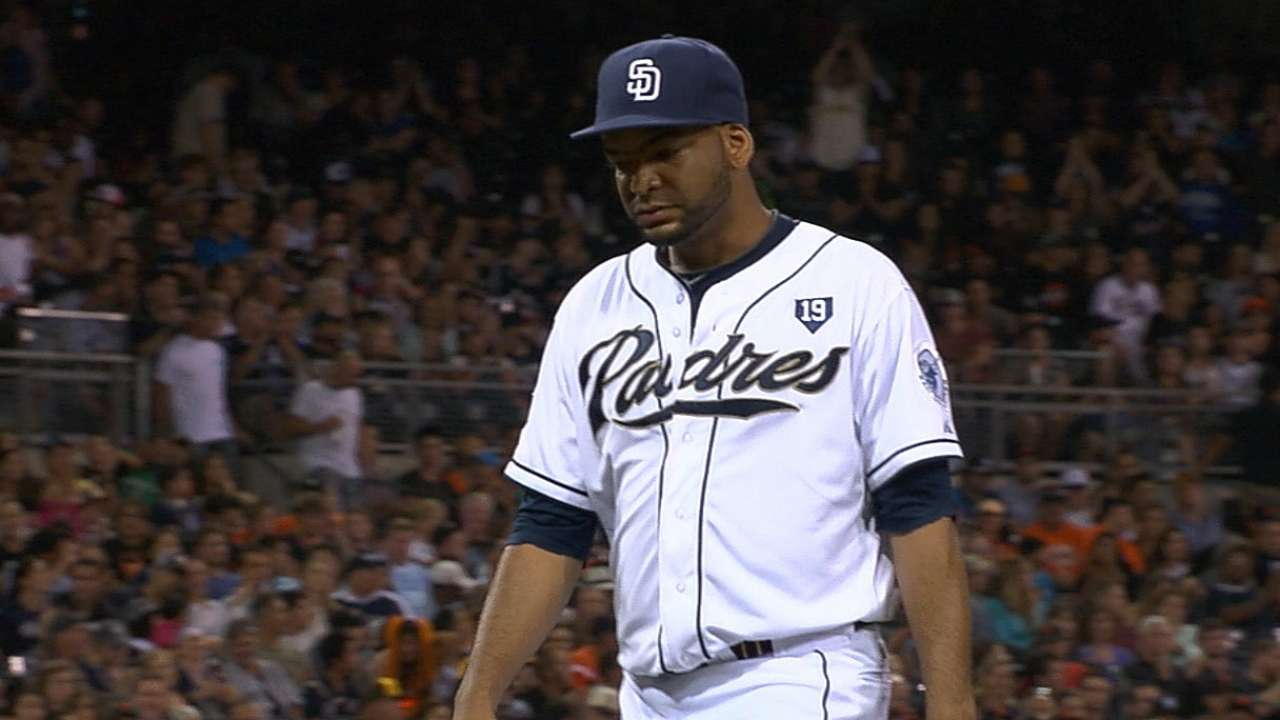 Despaigne continues dominance of Giants