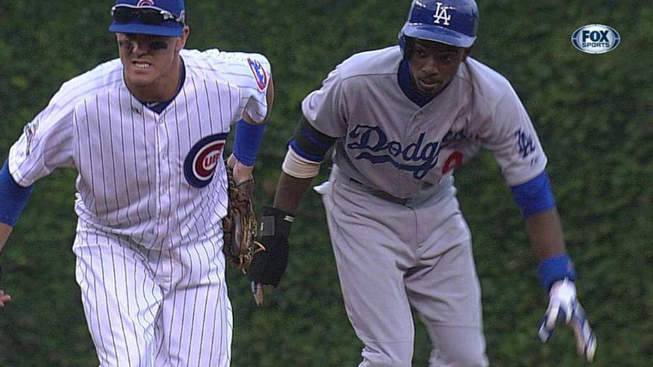 Cubs lose challenge on Gordon's 64th steal