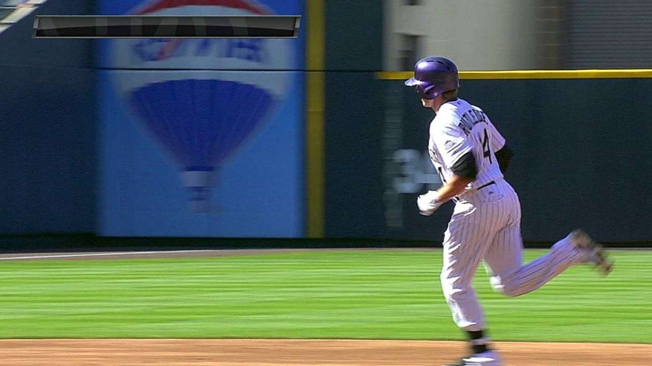 Rutledge's two-run homer
