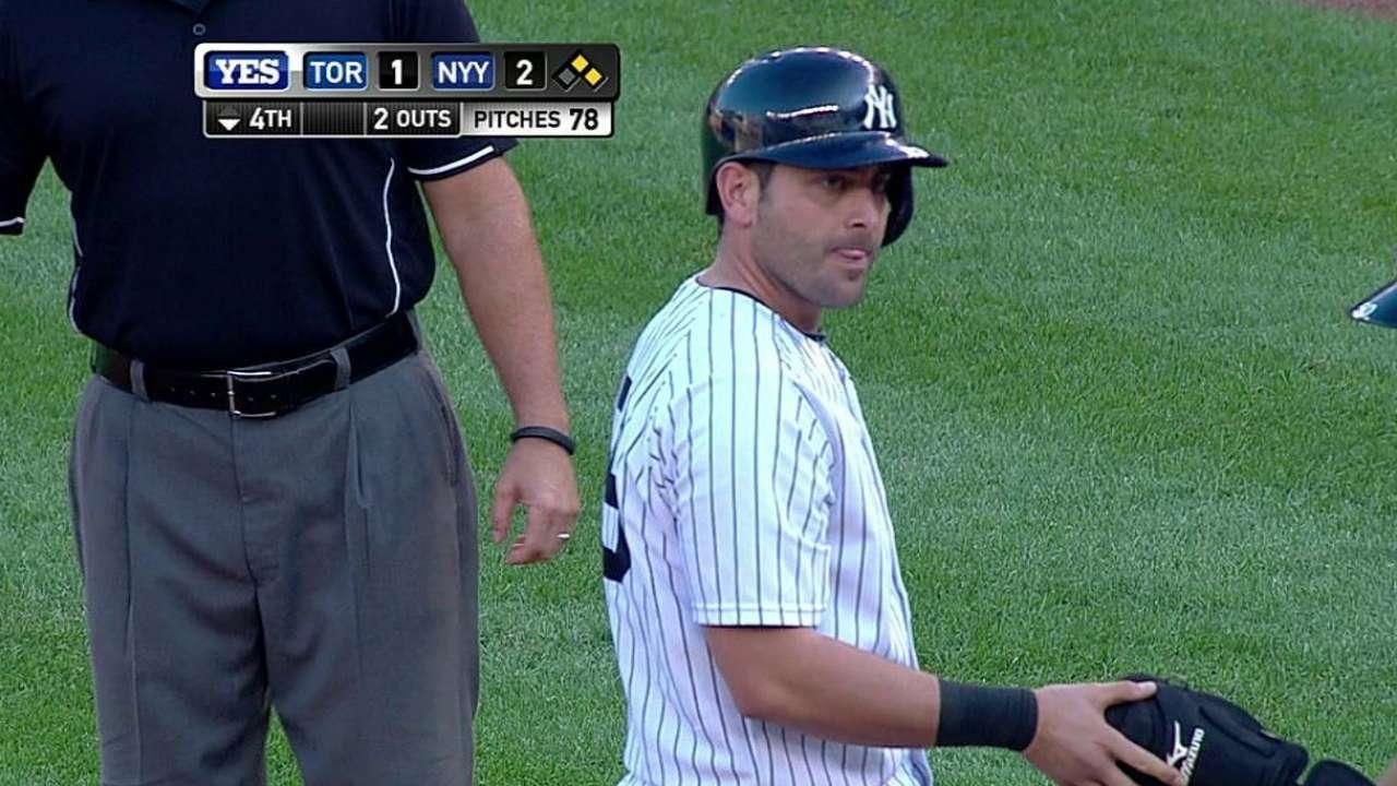 Los Yankees se quedaron cortos ante los Azulejos