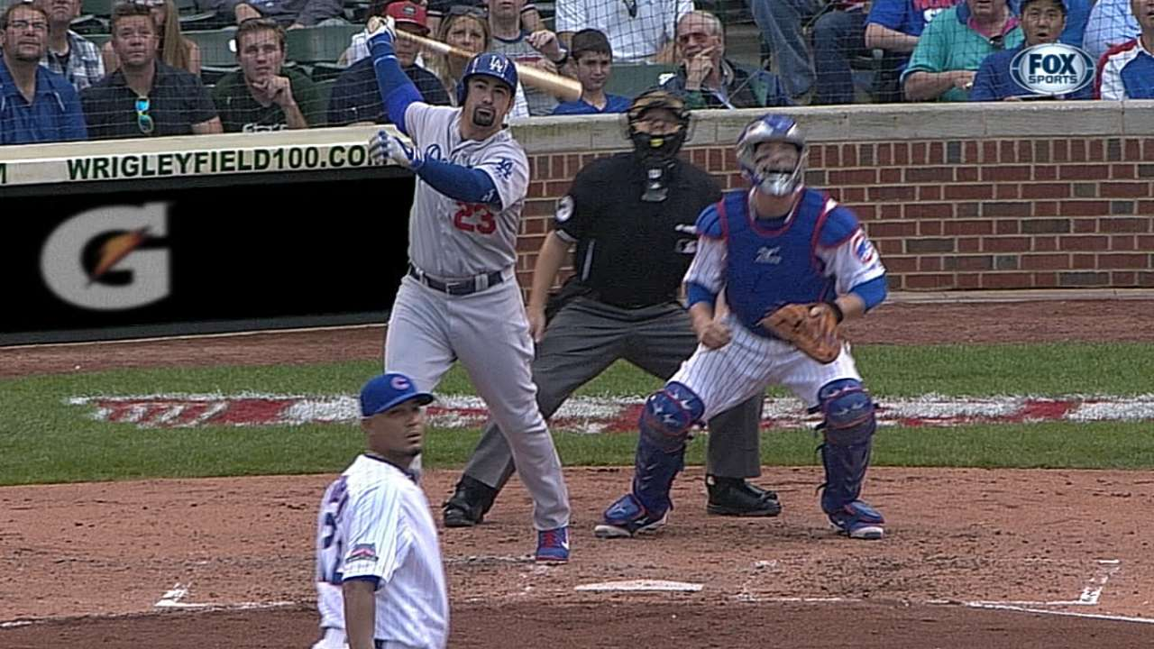 Adrian's two homers squandered as 'pen crumbles