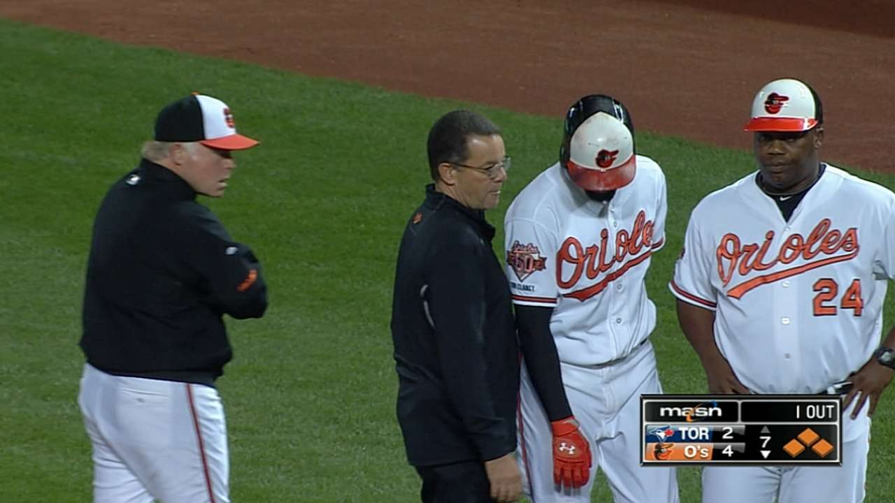 O's allowing Markakis, Pearce to heal
