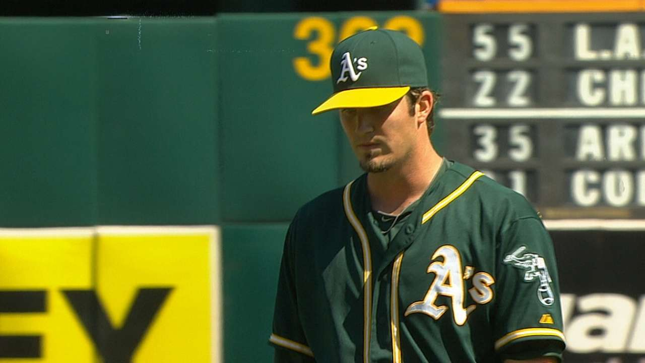 A's can't gain in Wild Card with shutout loss