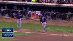 Gomes' three-run homer gives Indians a Wild Card lift