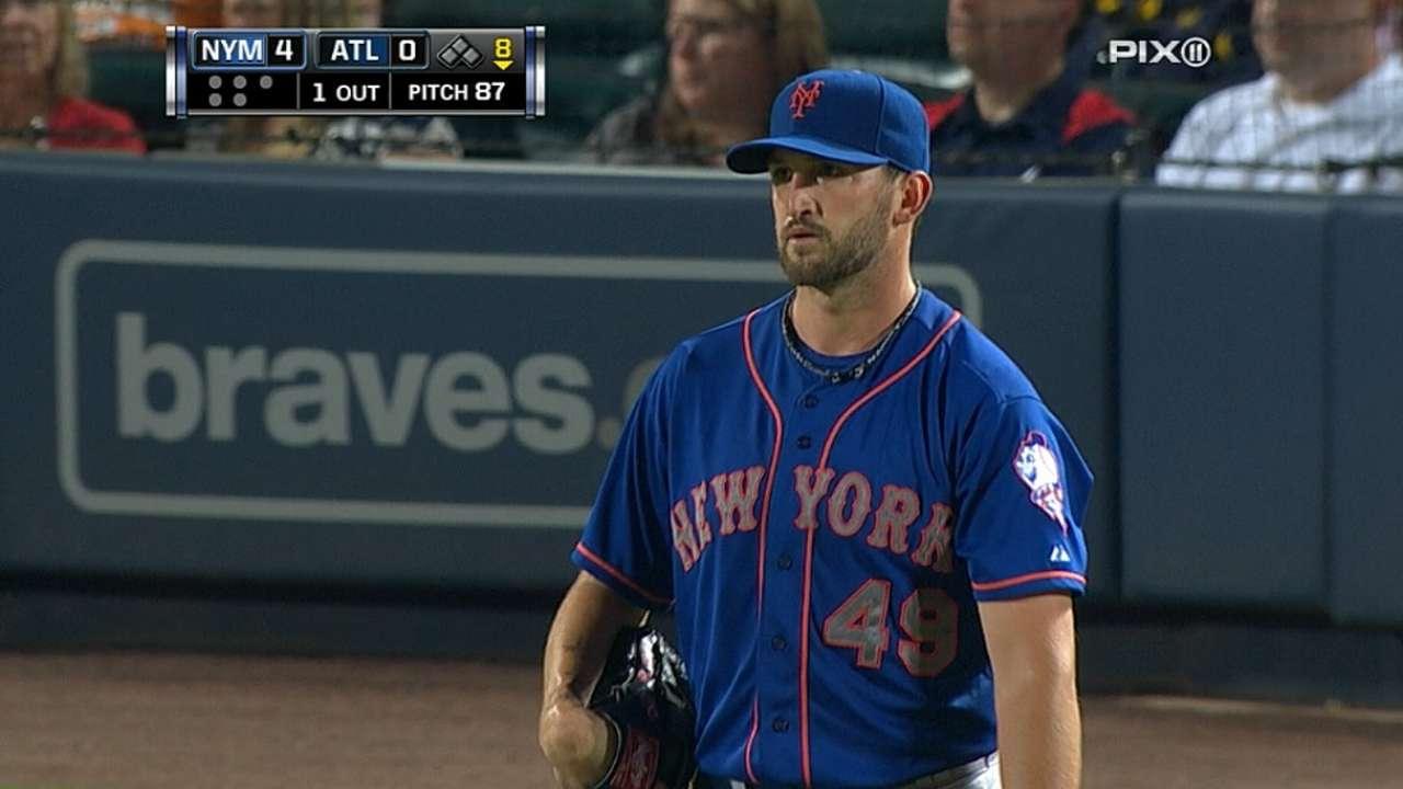 Niese's luck turns around as Mets win series