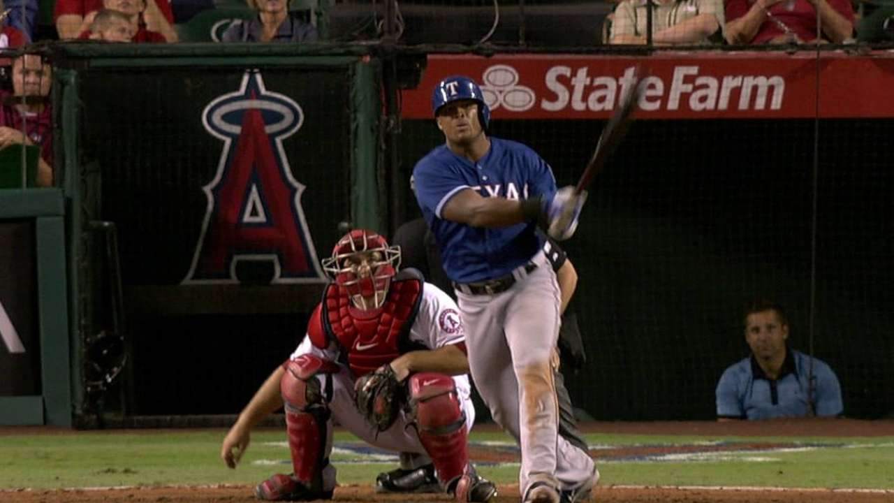 Rangers show late fight, but Halos' homers too much