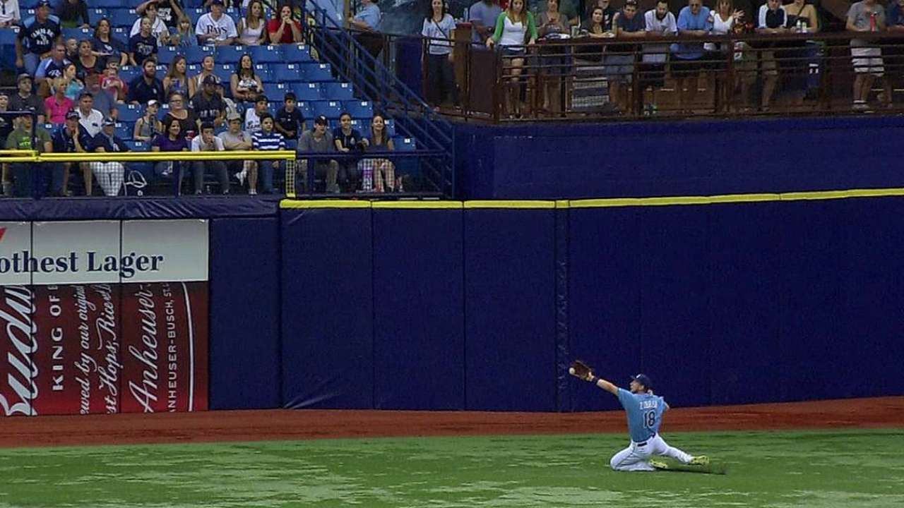 Rays stymied by Danks in home finale