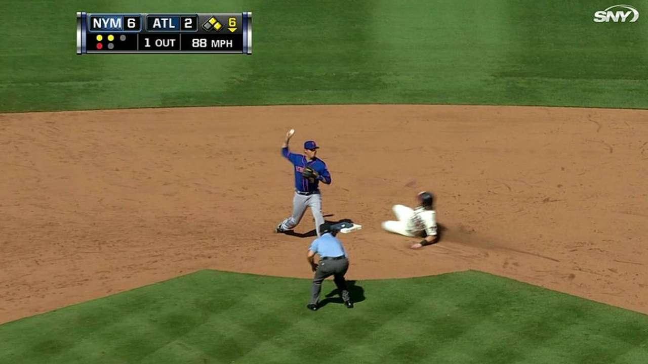 Mets turn big double play