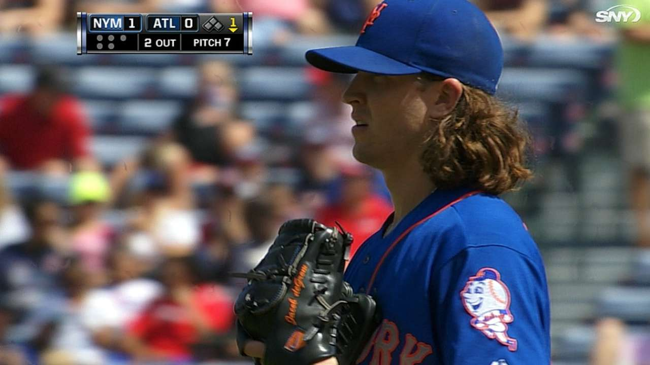 Sporting News gives deGrom top rookie honors