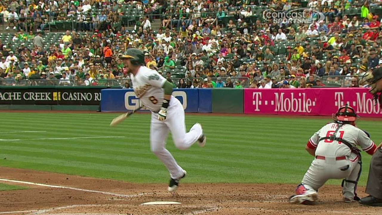 Lowrie exits with left foot contusion