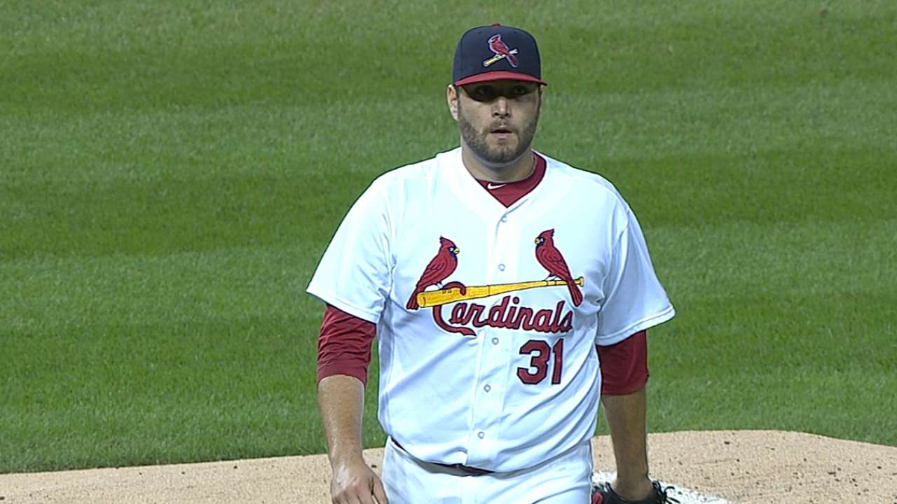 Lynn solid, but Cards can't get closer to division title