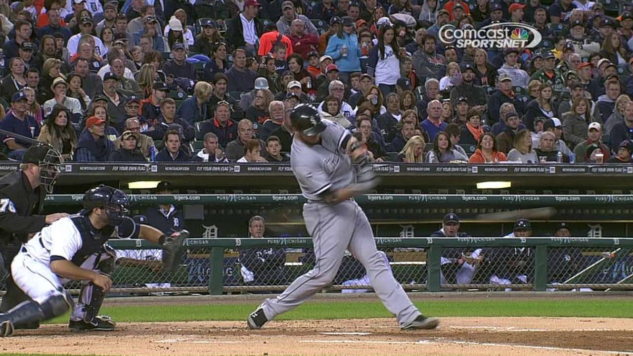 Flowers: 'My job to lose' behind plate for White Sox