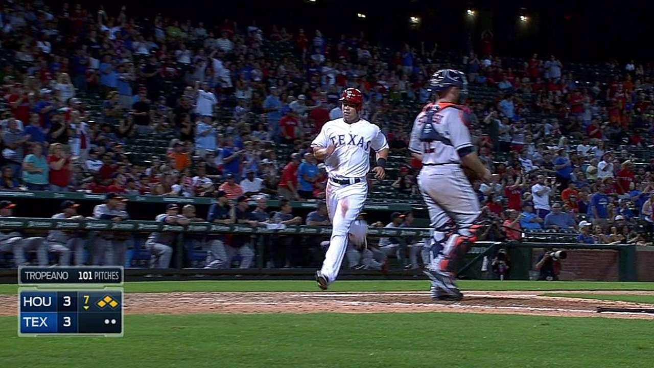 Rodriguez is Major player in Rangers' victory