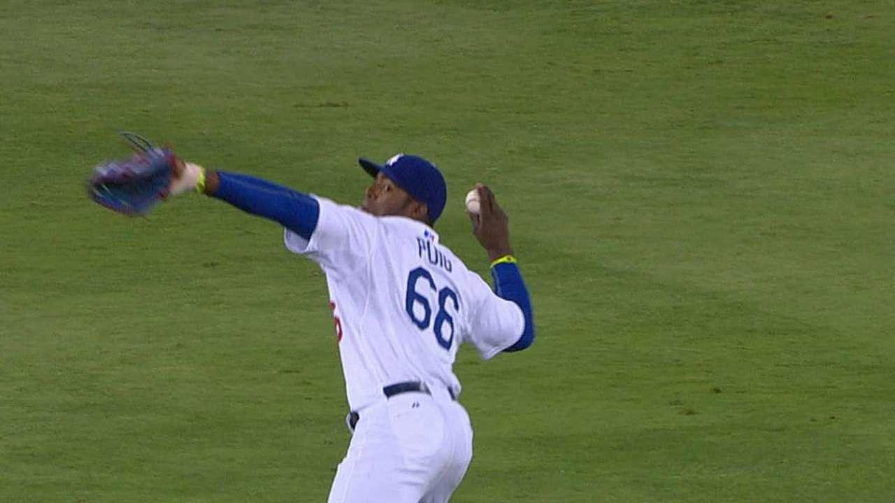 Dodgers' magic number still three after 13-inning loss