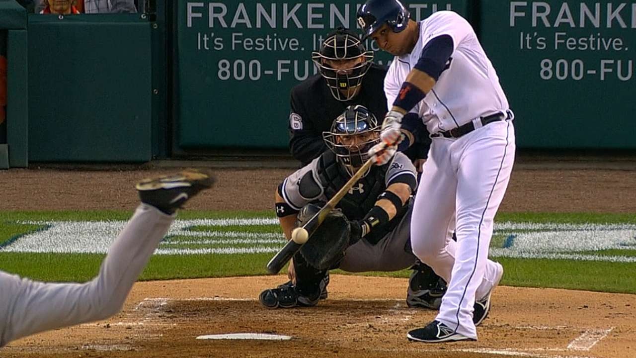Miggy's doubles put him in rare company