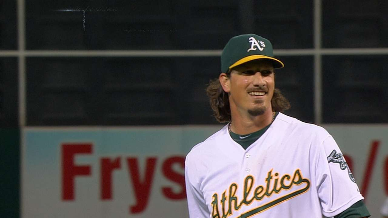 A's have arms for an October run