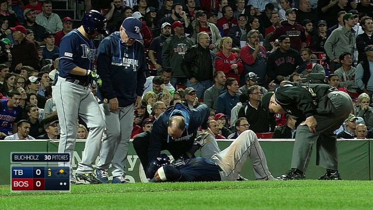 Escobar has MRI on knee, no structural damage revealed