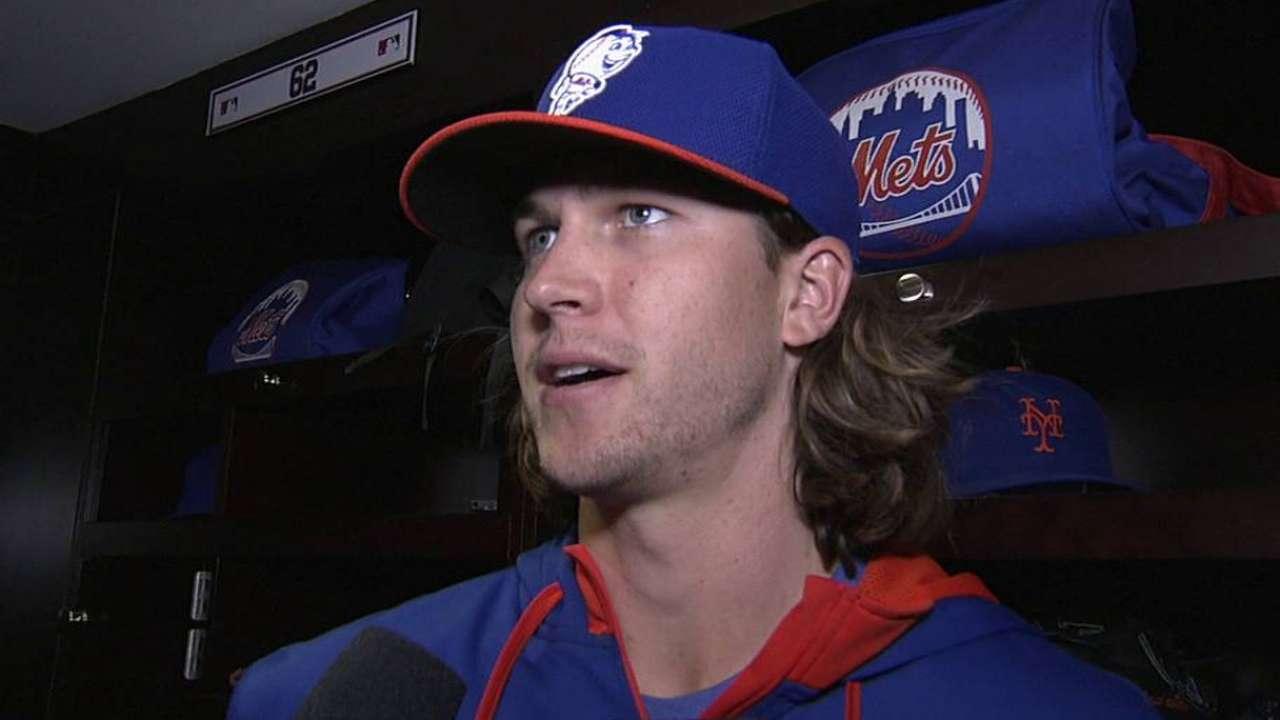 Mets to skip deGrom's final start, shut rookie down