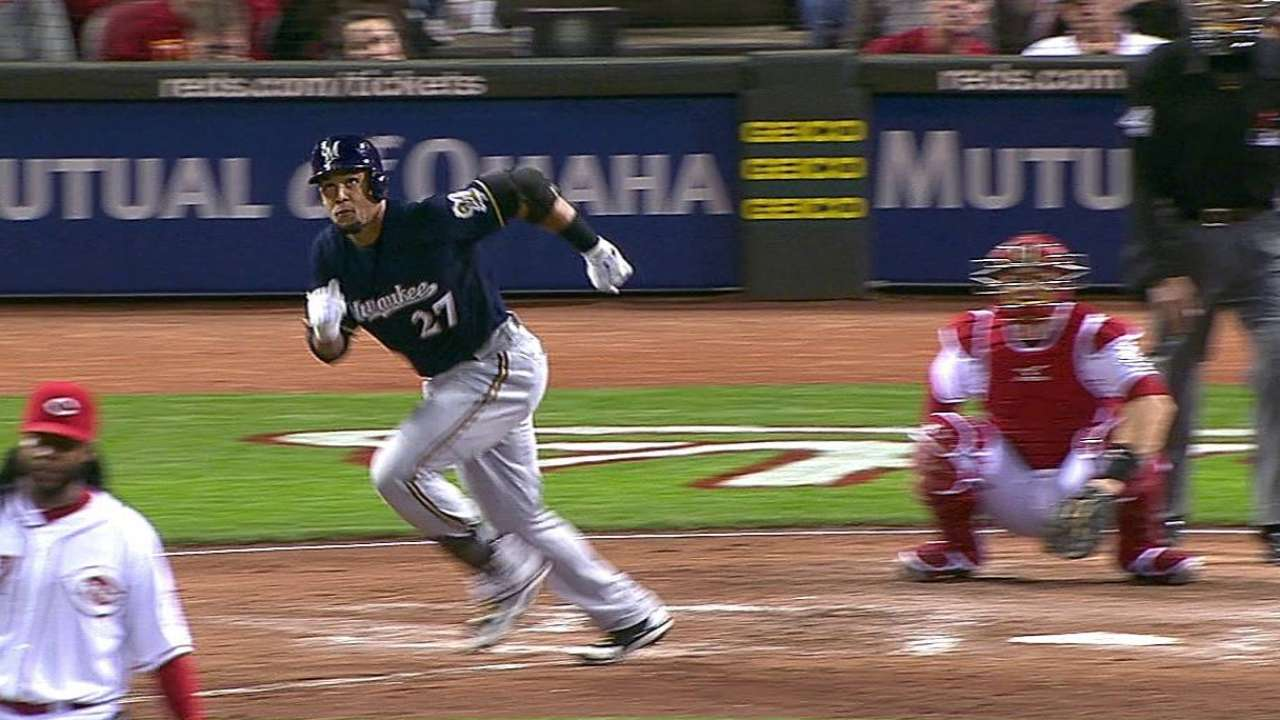 Brewers on brink of elimination with loss to Reds