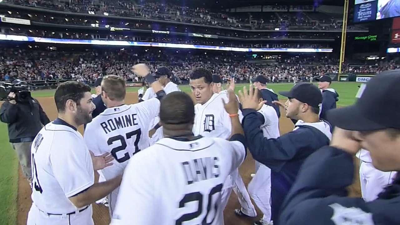 Tigres dejan tendidos a White Sox con hit de Miguel