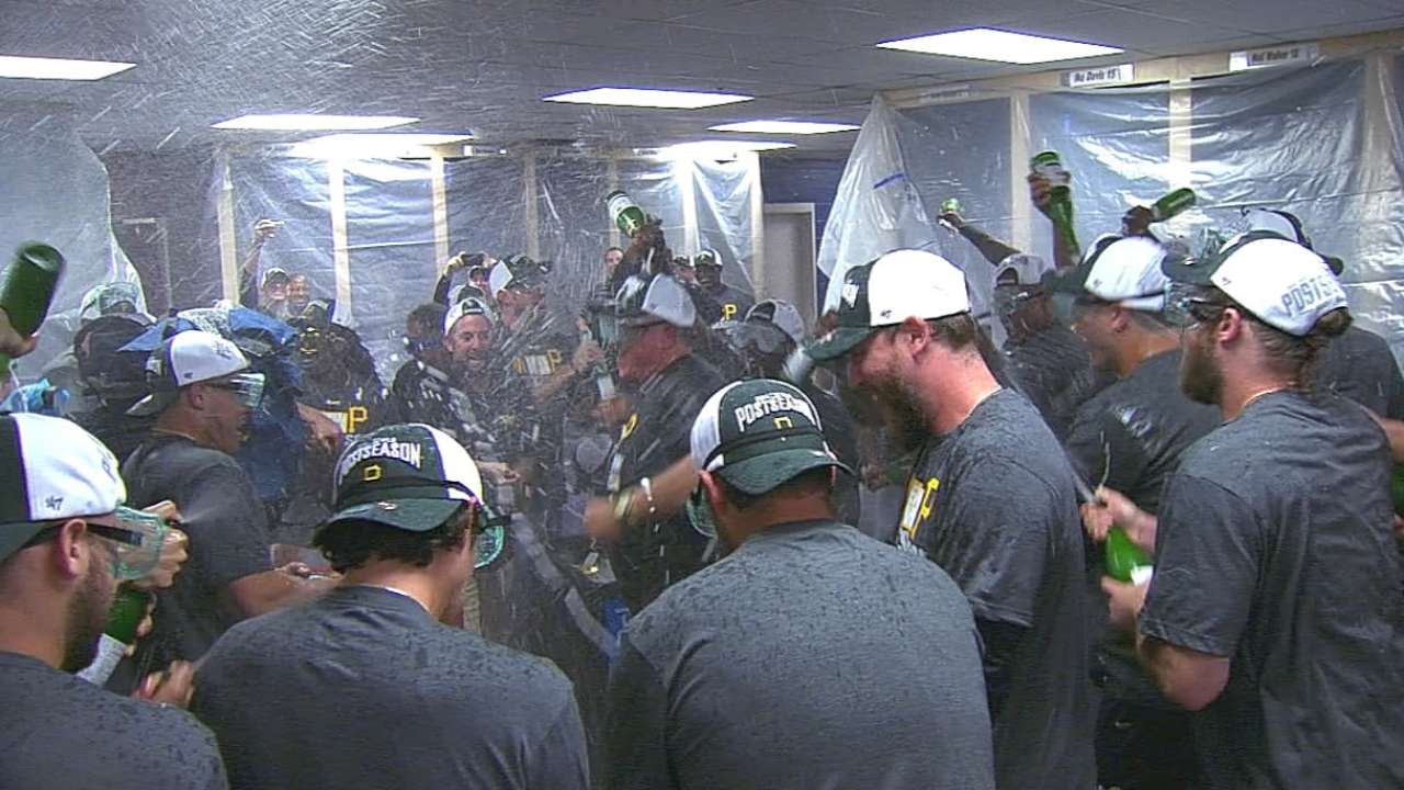 Back to Buctober: Pirates rally to clinch spot