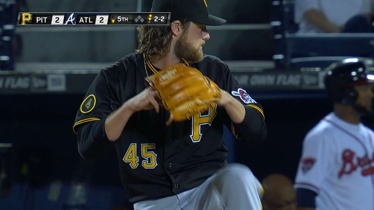 Cut on Cole's finger doesn't affect pitching