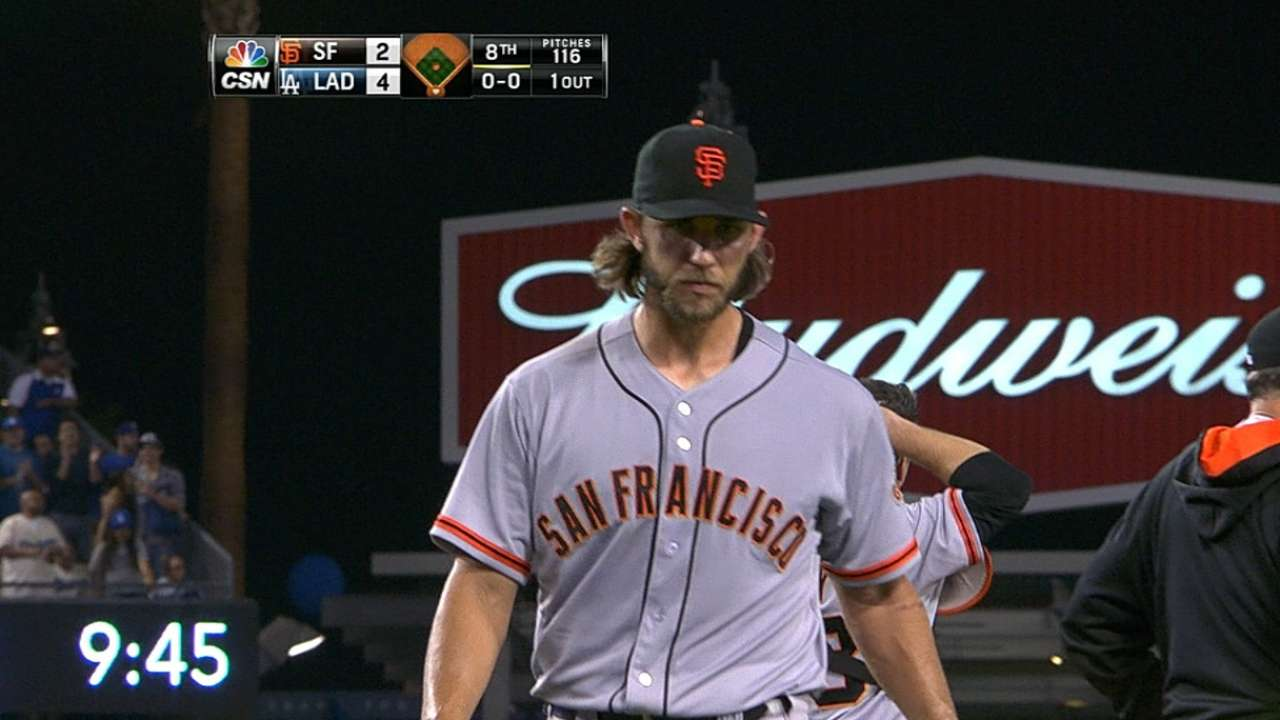 Giants could save MadBum for Wild Card Game