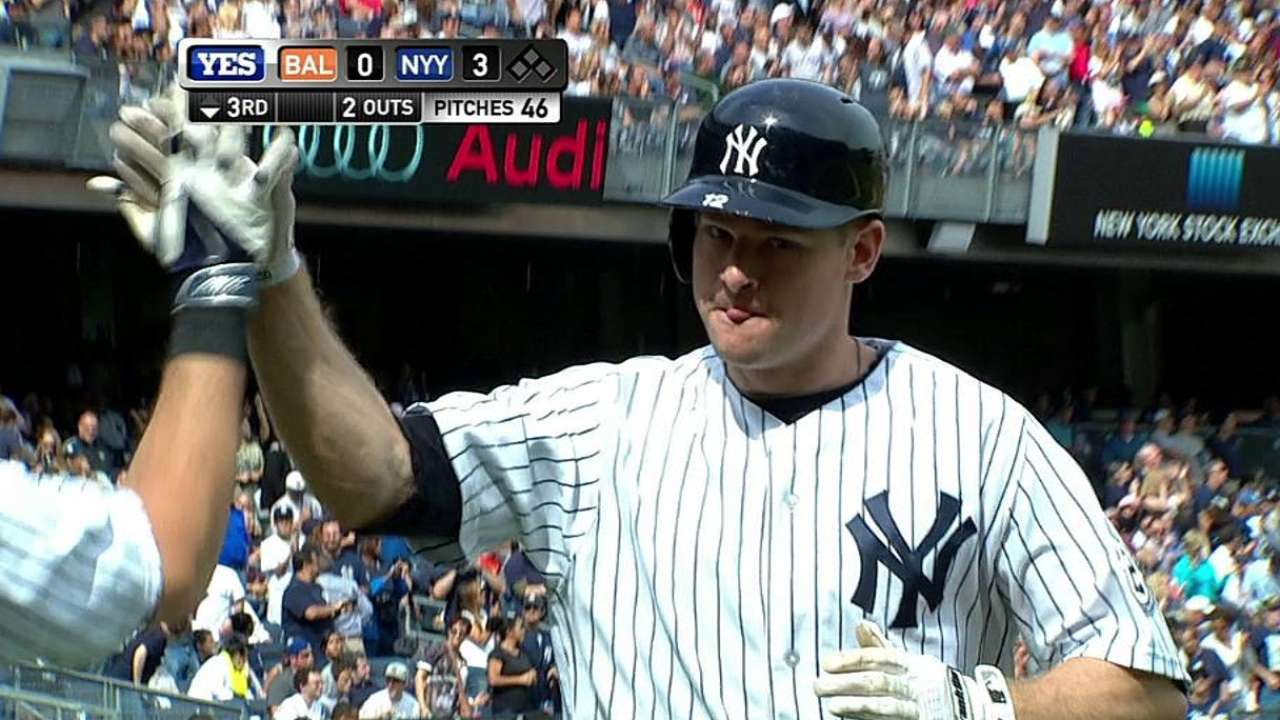 With Headley, Yanks squarely in race for AL East title