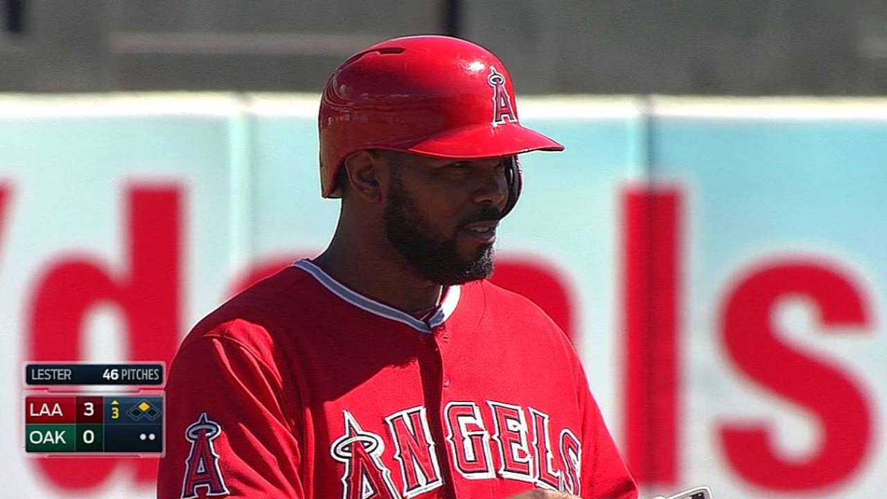 Angels' magic number at 2 for AL's top seed
